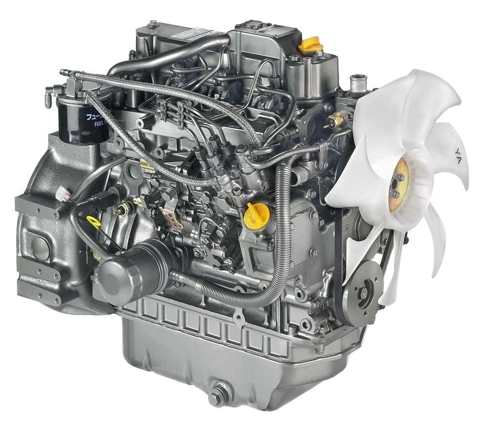 BMBE 4TNV98 Yanmar Motor kpl. und seine Teile